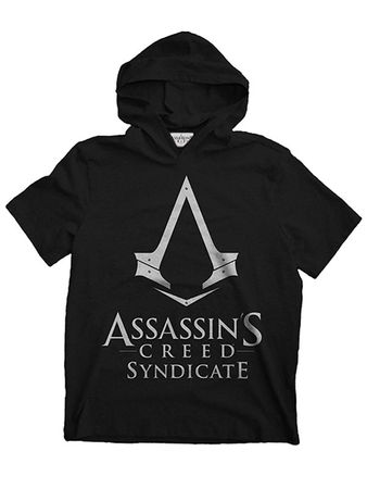 Assassins Creed Syndicate Hooded Sweatshirt in schwarz von S-XL