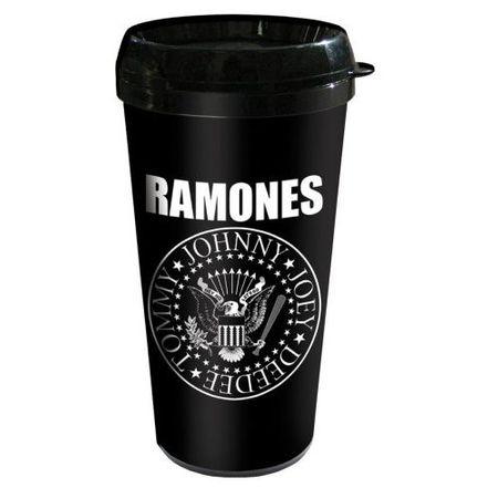 Ramones Plastik Travel Kaffeetasse / Kaffeebecher Presidetial Seal