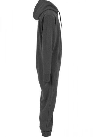 Urban Classics Sweat Jumpsuit in charcoal-schwarz von XS/S bis XL/2XL – Bild 4