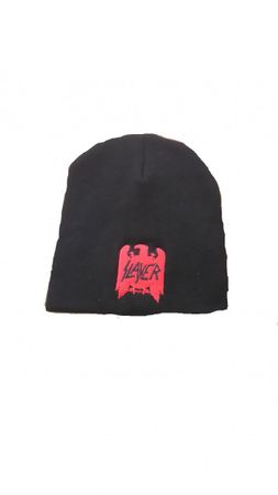Slayer Fan Beanie / Wintermütze Logo Eagle