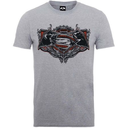 Batman V Superman Gothik Logo T-Shirt von XL-2XL