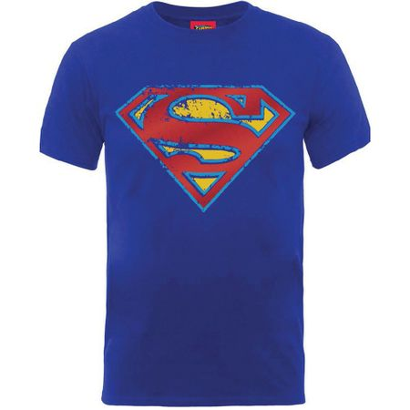 Marvel Comics Superman T-Shirt Foil Shield von S-2XL