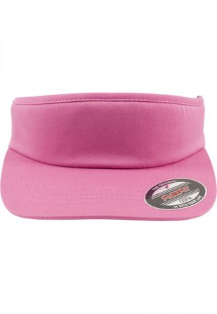 Flexfit Cut Off Supervisior Sonnenblende Cap in pink – Bild 1