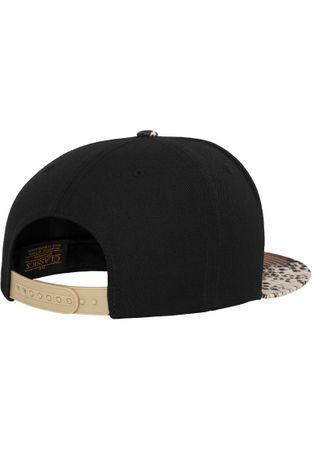 Flexfit Printed Snapback Cap im Cobra-Optik – Bild 3