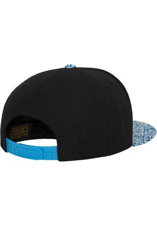 Flexfit Printed Snapback Cap Elephant blau-weiß – Bild 2