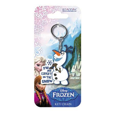 Disney Frozen Elsa Olaf Schneemann Gummi Schlüsselanhänger