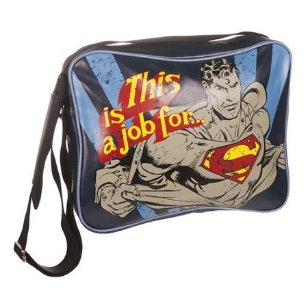 Superman Messenger / Schultertasche This is a Job for