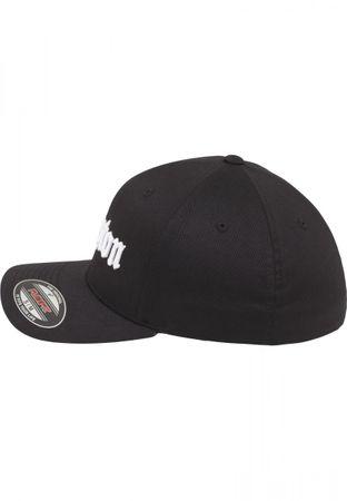 Compton Flexfit Cap in schwarz von S/M - L/XL – Bild 3