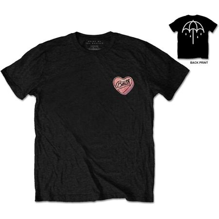 Bring Me The Horizon Bandshirt Hearted Candy von S-2XL