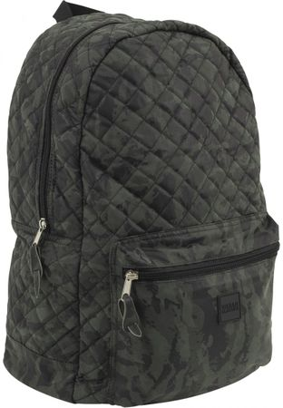 Urban Classics Diamond Quilt Leather Imitation Rucksack in camo – Bild 1