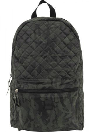 Urban Classics Diamond Quilt Leather Imitation Rucksack in camo – Bild 2