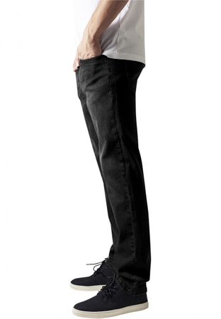 Urban Classics Stretch Denim Pants in blackwashed von W30 bis W38 – Bild 4