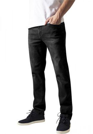 Urban Classics Stretch Denim Pants in blackwashed von W30 bis W38 – Bild 1