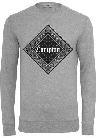 Compton Bandana Crewneck grau von S-XL – Bild 2