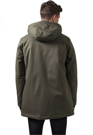 Urban Classics Heavy Cotton Parka in olive von S-2XL – Bild 2