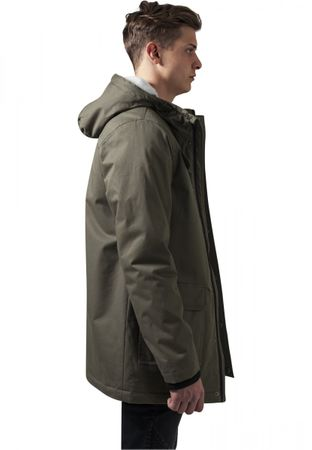 Urban Classics Heavy Cotton Parka in olive von S-2XL – Bild 3