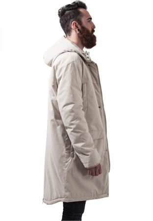 Urban Classics Cotton Peached Canvas Parka in sand von S-2XL – Bild 3