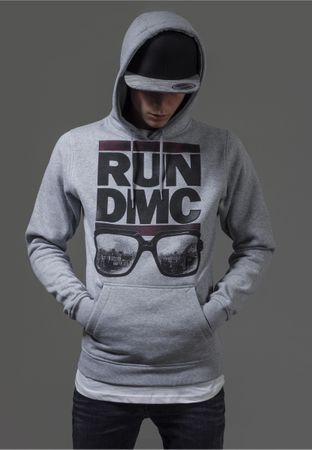 RUN DMC City Glasses Hoody in grau von S-2XL – Bild 1