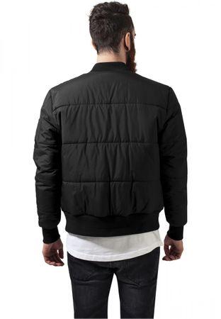 Urban Classics Basic Quilt Bomber Jacket in schwarz von S-2XL – Bild 2