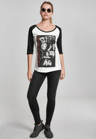 Ladies 5 Seconds of Summer Stacked Raglan Band Shirt von XS-XL – Bild 2