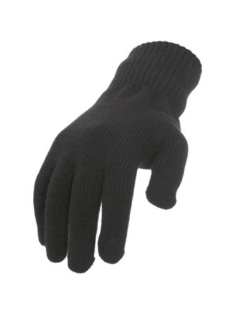 Urban Classics Knitted Gloves / Handschuhe charcoal in S/M - L/XL