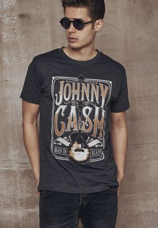 Johnny Cash Man in Black Band Shirt von S-2XL – Bild 1