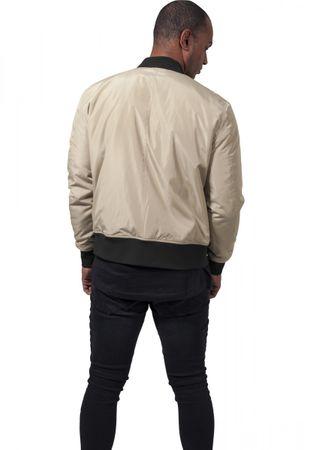 Urban Classics 2-Tone Bomber Jacket in gold-schwarz von S-2XL – Bild 2