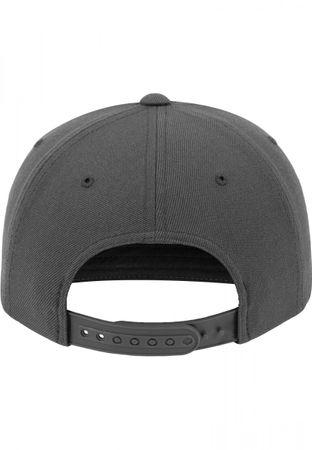 Flexfit Arch Snapback Cap in schwarz-grau – Bild 4