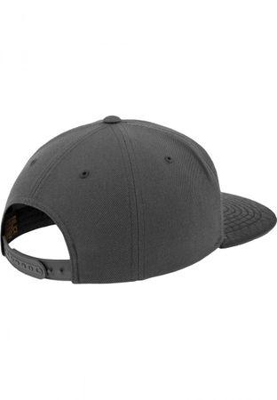 Flexfit Arch Snapback Cap in schwarz-grau – Bild 6