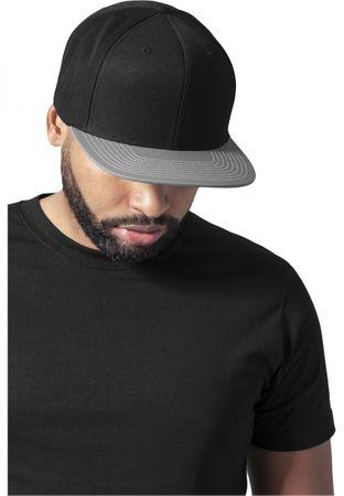 Flexfit Reflective Visor Snapback Cap in schwarz-grau – Bild 1