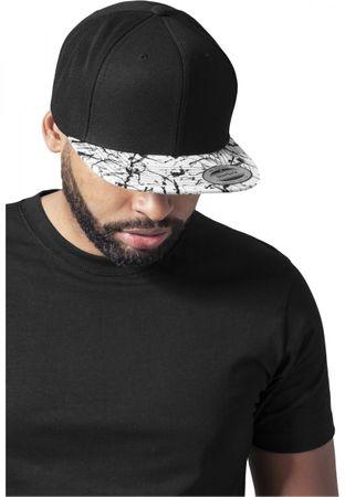 Flexfit Painted Visor Cap in schwarz-weiß – Bild 1
