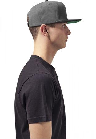 Flexfit / Yupoong Classic Snapback 2-Tone Cap in charcoal-schwarz – Bild 2