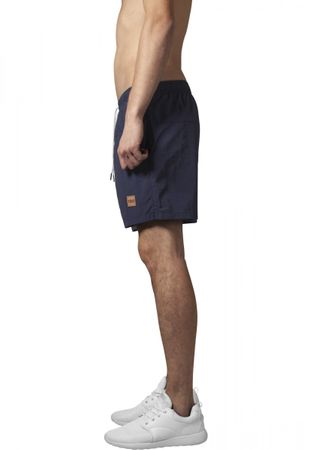 Urban Classics Block Swim Shorts in navy von S-5XL – Bild 3
