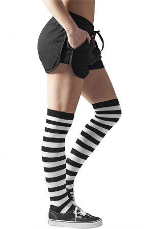 Urban Classics Ladies Striped Socken in schwarz-weiß – Bild 4
