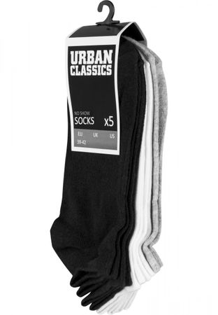 Urban Classics No Show Socken 5-Pack in gemischt