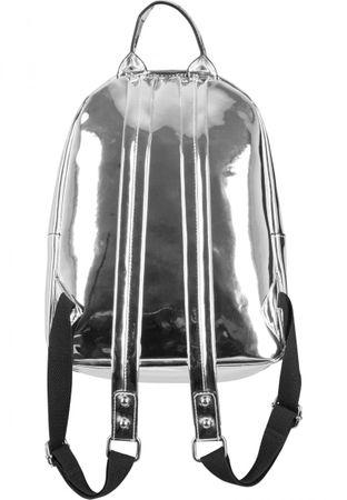 Urban Classics Midi Metallic Backpack / Rucksack in silber – Bild 3