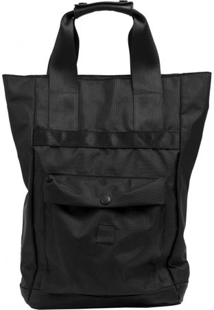 Urban Classics Carry Handle Backpack in schwarz – Bild 2