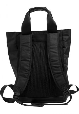 Urban Classics Carry Handle Backpack in schwarz – Bild 4