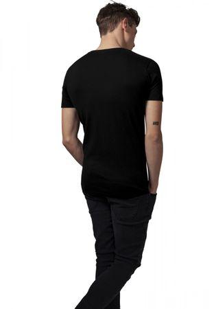 Urban Classics Basic V-Neck T-Shirts in schwarz von S-2XL – Bild 2