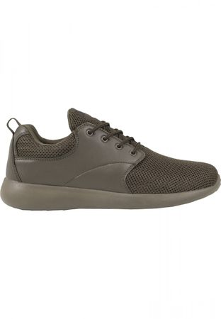 Urban Classics Light Runner Turnschuh in olive von 36-47 – Bild 4