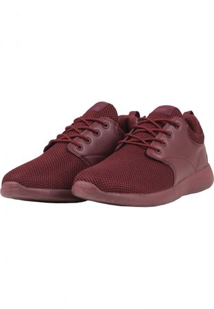 Urban Classics Light Runner Turnschuh in burgundy von 36-47 – Bild 2