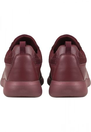 Urban Classics Light Runner Turnschuh in burgundy von 36-47 – Bild 5