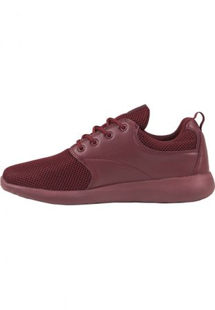 Urban Classics Light Runner Turnschuh in burgundy von 36-47 – Bild 3