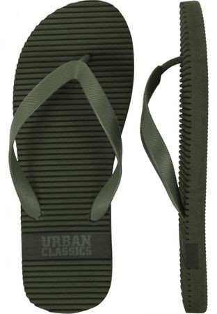 Urban Classics Basic Slipper in olive von 36-46 – Bild 2
