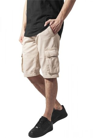 Urban Classics Fitted Cargo Shorts in beige von W28-W38 – Bild 1