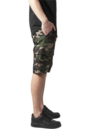 Urban Classics Fitted Cargo Shorts in wood von W28-W38 – Bild 4