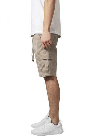 Urban Classics Camo Cargo Shorts in beigecamo von W30-W38 – Bild 3