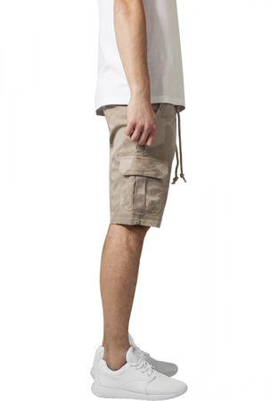 Urban Classics Camo Cargo Shorts in beigecamo von W30-W38 – Bild 4
