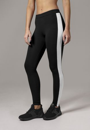 Urban Classics Ladies Retro Leggings in schwarz von XS-XL – Bild 1