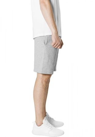 Urban Classics Basic Terry Shorts in grau von S-2XL – Bild 4